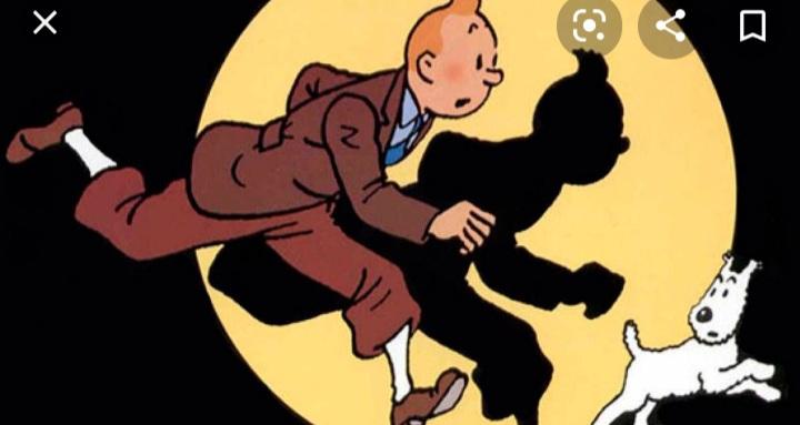 Imagen de referencia de Tintin