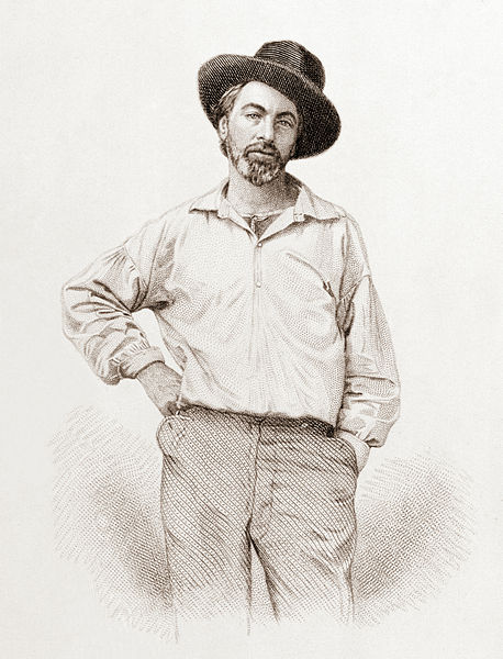 Imagen de referencia de Walt Whitman