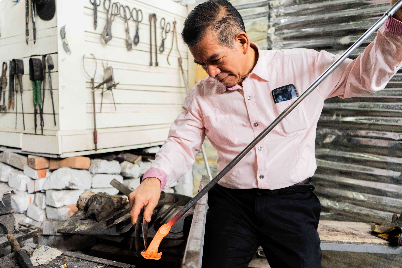 Imagen de referencia de Los maestros vidrieros de San Cristóbal
