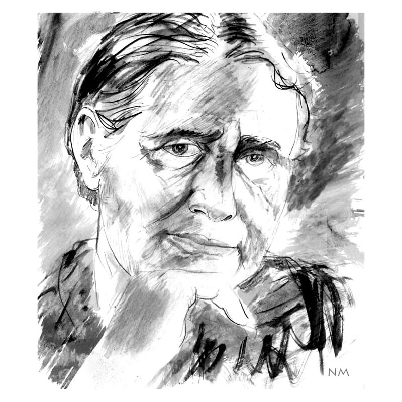Imagen de referencia de Doris Lessing