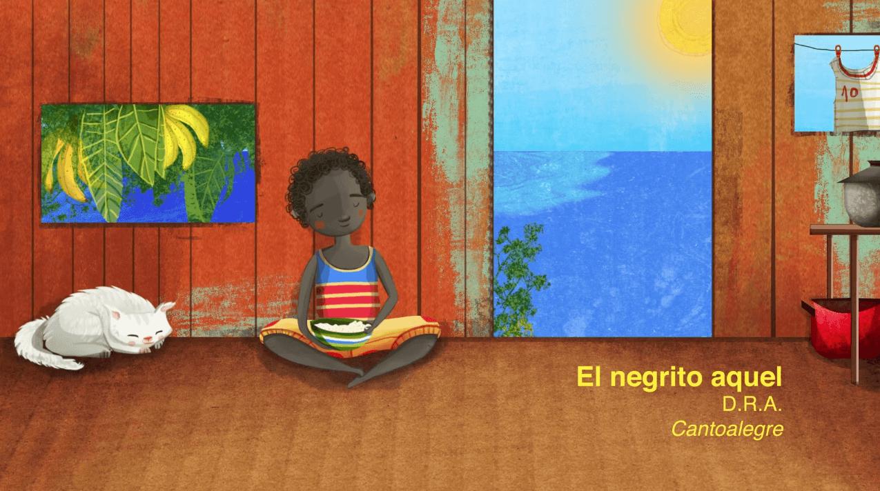 Imagen de referencia de Tradición afro descendiente  para niños