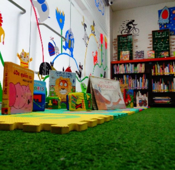 Imagen de referencia de Literatura infantil física y digital de la Biblioteca del Deporte