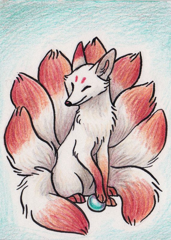 Imagen de referencia de kitsune