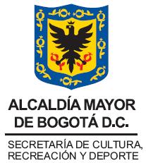 Logo Secretaría Cultura, Recreación y Deporte - Alcaldía de Bogotá - Programa Distrital de Apoyos Concertados