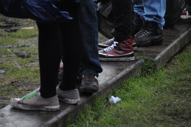 Calzado público Rock al Parque
