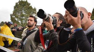 Fotógrafos en Rock al Parque