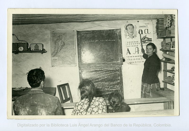 Imagen de referencia Acción Cultural Popular - Radio Sutatenza